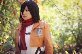 Mikasa Ackerman from Attack on Titan worn by Momoju