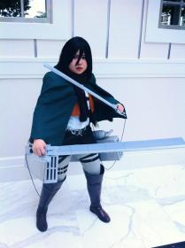 Mikasa Ackerman from Attack on Titan by Momoju