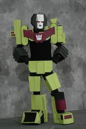 Devastator from Transformers worn by Milkyray