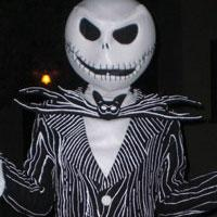 Jack Skellington from Nightmare Before Christmas