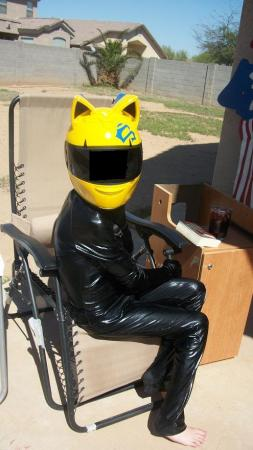 Celty Sturluson from Durarara!! worn by Rachel