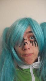 Hatsune Miku from Vocaloid 2 worn by Rachel