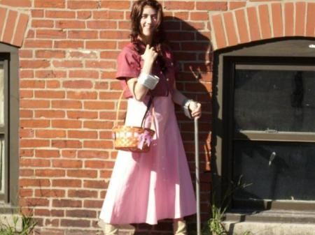 Aeris / Aerith Gainsborough from Final Fantasy VII worn by Rachel