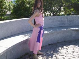 Aeris / Aerith Gainsborough from Kingdom Hearts 2  by Rachel