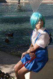 Rei Ayanami from Neon Genesis Evangelion worn by Rachel