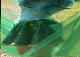Rydia from Final Fantasy IV worn by Rachel