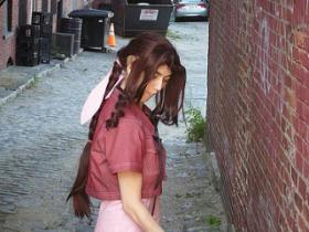 Aeris / Aerith Gainsborough from Final Fantasy VII by Rachel