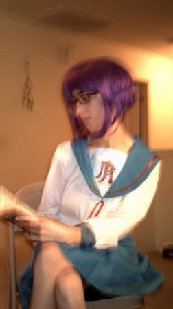 Yuki Nagato from Melancholy of Haruhi Suzumiya worn by Rachel