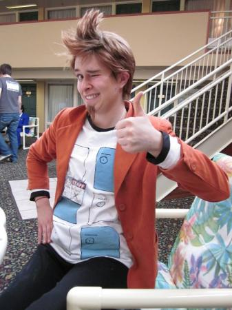 Larry Butz from Phoenix Wright: Ace Attorney worn by Balni