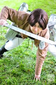 Eren Yeager from Attack on Titan worn by TangledinBlue