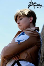 Irvin Smith from Attack on Titan by TangledinBlue