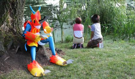 Flamedramon from Digimon Adventure 02