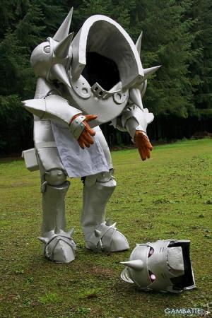 Alphonse Elric from FullMetal Alchemist: Brotherhood worn by Iloon