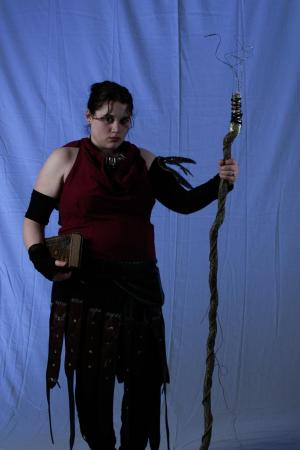 Morrigan from Dragon Age: Origins worn by Shyala