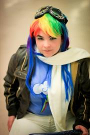 Rainbow Dash from My Little Pony Friendship is Magic worn by Riveth