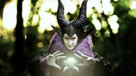Maleficent from Sleeping Beauty worn by Seifer-sama