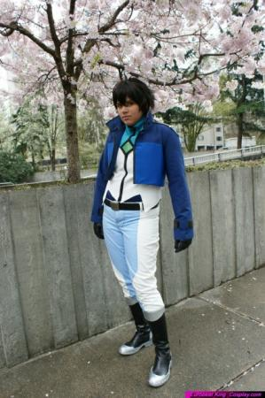 Setsuna F Seiei from Mobile Suit Gundam 00 worn by Heimdall