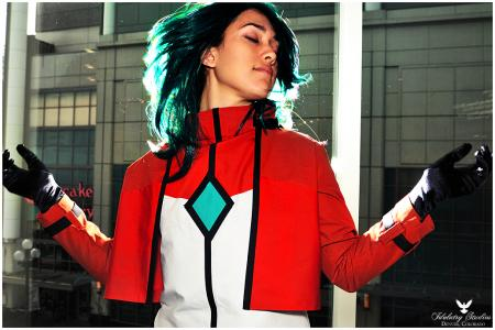 Allelujah / Hallelujah Haptism from Mobile Suit Gundam 00 worn by thisiscyrene