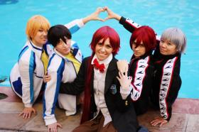Hazuki Nagisa from Free! - Iwatobi Swim Club worn by thisiscyrene