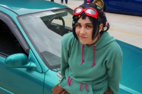 Vanellope Von Schweetz from Wreck-It Ralph worn by KoopaKid
