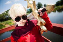 Dave Strider from MS Paint Adventures / Homestuck worn by ZiPPY