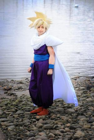 Gohan from Dragonball Z worn by QuantumDestiny