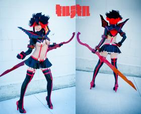 Matoi Ryuko from Kill la Kill worn by QuantumDestiny