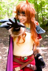 Lina Inverse from Slayers  by QuantumDestiny