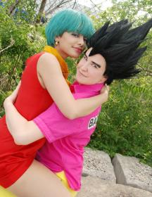 Bulma Briefs from Dragonball Z by Glay