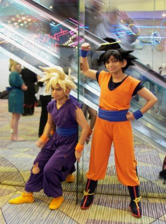 Goku from Dragonball Z worn by Glay