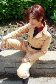 Italy (Romano) / Lovino Vargas from Axis Powers Hetalia by Glay