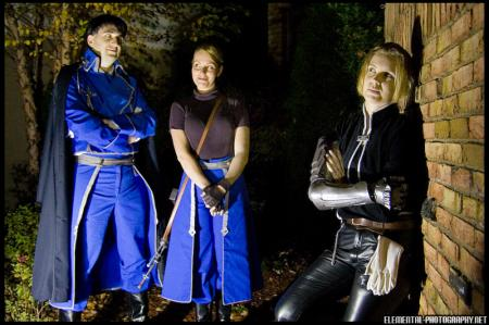 Roy Mustang from Fullmetal Alchemist worn by Melchoir