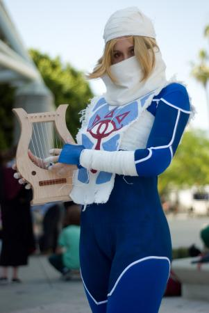 Sheik from Legend of Zelda: Ocarina of Time worn by .Kitty.