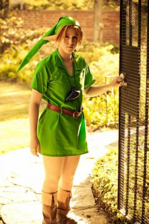 Link from Legend of Zelda: Ocarina of Time worn by .Kitty.