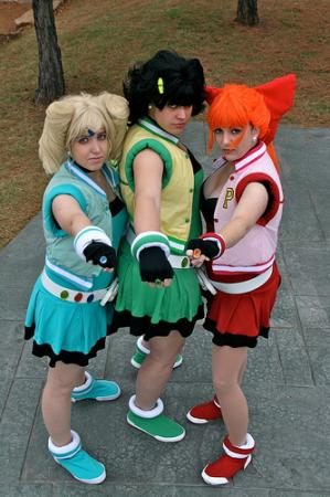 Blossom from Powerpuff Girls Z worn by Saya
