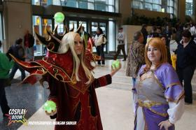 Kael'thas Sunstrider from World of Warcraft worn by Brette