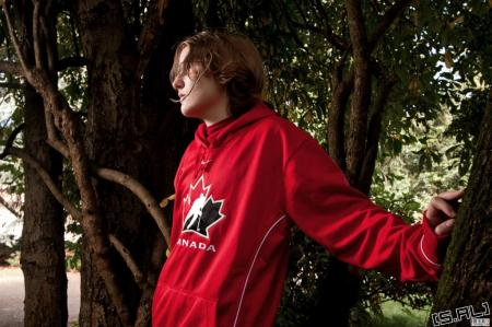 Canada / Matthew Williams from Axis Powers Hetalia worn by Brette