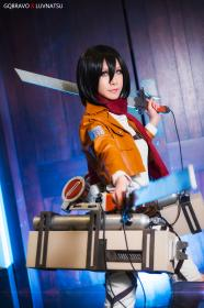 Mikasa Ackerman from Attack on Titan  by Luvnatsu