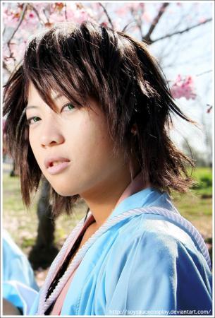 Okita Souji from Hakuouki Shinsengumi Kitan worn by Jo Luffiro Sauce