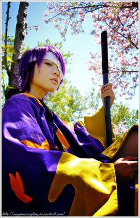 Shinsuke Takasugi from Gintama worn by Jo Luffiro Sauce