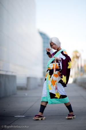Hayato Gokudera from Katekyo Hitman Reborn! worn by Jo Luffiro Sauce