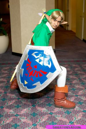 Link from Legend of Zelda: Ocarina of Time worn by Phavorianne