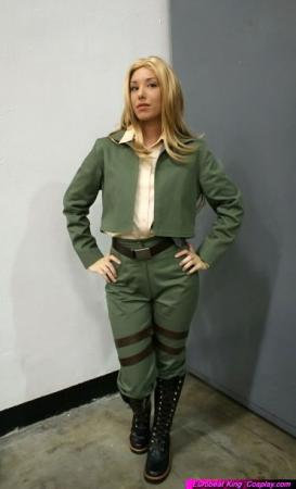 Cover Girl from G.I. Joe worn by Phavorianne