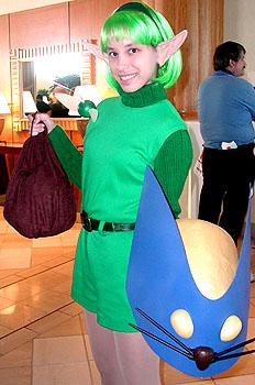 Saria from Legend of Zelda: Ocarina of Time