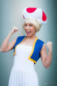 Toad from Mario Bros worn by Phavorianne