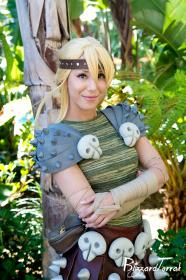 Astrid from How to Train Your Dragon by Phavorianne
