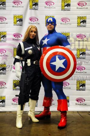 Sharon Carter from Marvel Comics worn by Phavorianne