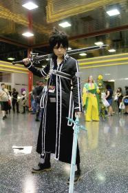 Kirito from Sword Art Online worn by Minoru