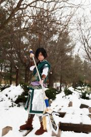 Jiang Wei from Dynasty Warriors 7