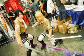 Levi from Attack on Titan worn by Minoru